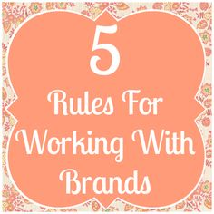 Fairytales and Fitness: Our 5 Rules for Working with Brands