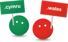 Meet .cymru and .wales, the full of life characters who personify the new domain names coming to Wales in the Summer of 2014