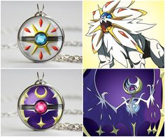 Pokemon Sun and Moon Legendaries! 😸 Here are some pokeball designs for Solgaleo and Lunala, the new legendaries of the Alola region! I hope that everyone who's been watching Nintendo's stream the last few days has enjoyed it as much as I have. Solgaleo Pokemon, Pokemon Craft, Pokemon Fusion, Pokemon Jewelry, Cool Pokemon Cards, Pokemon Birthday, Cute Kawaii Drawings, Pokemon Pictures, Geek Stuff