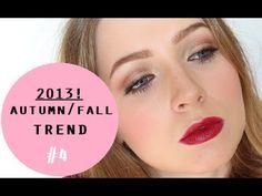 Autumn/Fall Trends Makeup Tutorial! Burnt Orange Eyes & Cranberry Lip #4/4  #beauty #makeup #fall #autumn #trends #burntorange #eyes #cranberry #lips #beauty