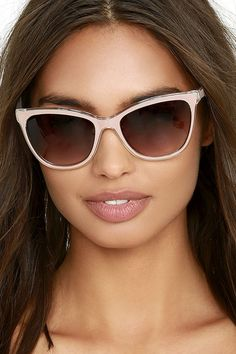28f4bb408c In Sight Taupe Sunglasses Mirrored Sunglasses
