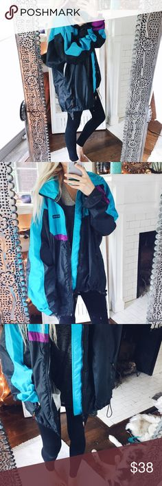 Moon Clique Vintage Bomber Jacket Gorgeous gem, Minty blue + purple. Easily customizable by adding patches. Fits a large size best! Oversized fit, super eclectic! ☕️☕️☕️ Tags: women's, feminine, fall, autumn, sexy, Beachy, sweater, jacket, denim, high wasted, work bag /// Perfect for the upcoming Fall season! 🌿☕️🍁 Jackets & Coats Utility Jackets