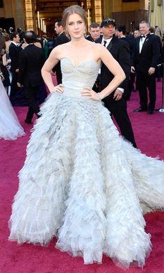 Amy Adams Oscar de la Renta Dress 2013 | www.onefabday.com