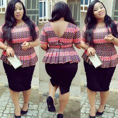 Top Ten Modern And Stylish Ankara Styles Top For Beautiful Ladies - Dabonke African Print Dresses, African Print Fashion, Africa Fashion, African Fashion Dresses, African Dress, African Clothes, Ankara Fashion, African Tops, African Women