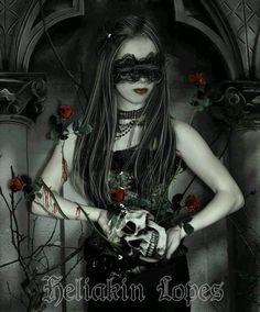 Goth Gothic girl fantasy Dark gothic art Beautiful dark art Gothic pictures