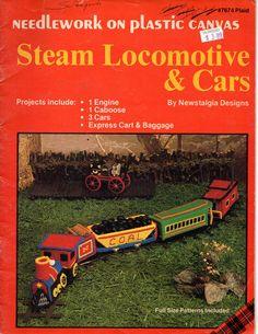 Plastic+Canvas+Steam+Locomotive+&+Cars+-+Plaid+Enterprises+Inc+#7674