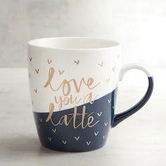 Pier 1 Imports Love You a Latte Jumbo Mug