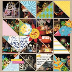 it's a small world... April 14 Template by Sahlin Studio Project Mouse (FANTASY Edition): Bundle by Sahlin Studio