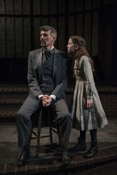 jeff parker as neville craven and tori whaples as mary in court theatres the secret garden - The Secret Garden Musical