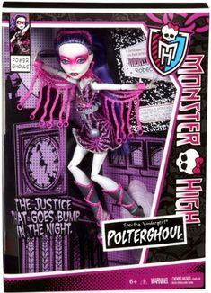 Monster High Power Ghouls Spectra Vondergeist Polterghoul