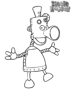 Peg Cat The Sorty Sort Flipbook - Coloring Pages Peg And Cat