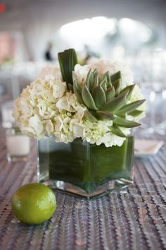 Beautiful Sonoma Wedding at Viansa Winery from Catherine Hall - wedding centerpiece