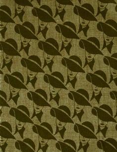 Porin puuvilla fabric by Juhani Konttinen  1970-73