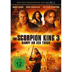 The Scorpion King Battle for Redemption poster, t-shirt, mouse pad Ron Perlman, Great Films, Good Movies, Best Movie Villains, Upcoming Movies 2020, Victor Webster, Kings Movie, Billy Zane, King Do