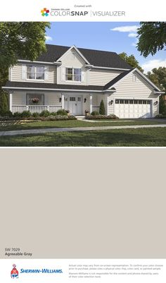 Bottom photo sherwin williams homestead brown paint for Exterior shutter visualizer