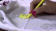 Mulher.com 31/01/2013 Vera Lucia Cunha - Pintira com giz de cera  parte 1