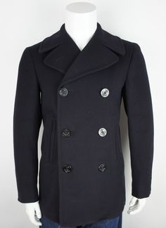 60's USN Pea Coat