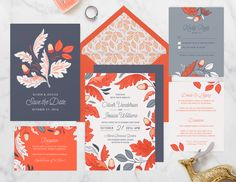 Autumn Harvest Wedding Suite - Customizable, from Paper Raven Co.