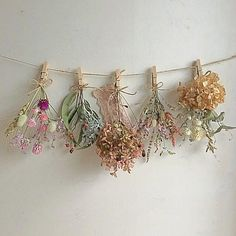 Dried Flowers, Paper Flowers, Party Flags, Kawaii Room, Purple Garden, Amazing Decor, Flower Template, How To Preserve Flowers, Diy Wood Projects