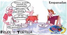 Frases, chistes, anécdotas, reflexiones y mucho más.: Chiste Frijol y Tortilla, Empanadas, Nuestro diario Guatemala