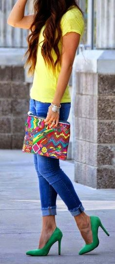 Everyday New Fashion: BOLD & BRIGHT