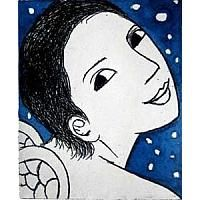 Small Angel with Stars  by Anita Klein