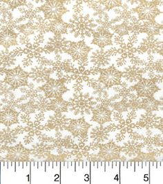 """Maker's Holiday Cotton Fabric 43""""-Packed Snowflakes"""