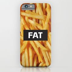 Check out society6curated.com for more! I am a part of the society6 curators program and each purchase through these links will help out myself and other artists. Thanks for looking! @society6 #phone #case #phonecase #accessory #accessories #fashion #style #buy #shop #sale #cool #sweet #rad #awesome #fun #text #typography #words #language #word #letter #letters #funny #fries #frenchfries #fat #lol #humor