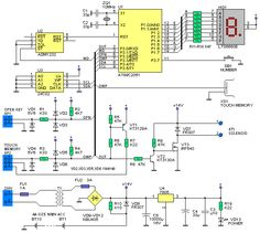iButton electronic lock - circuit diagrams, schematics, electronic projects