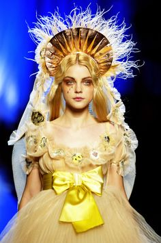 benedictxvii:    Gaultier - spring 2007 couture