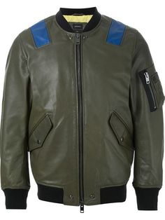 DIESEL 'L-Kittie' Bomber Jacket. #diesel #cloth #jacket