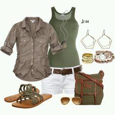 Cute Summer Outfits, Summer Wear, Spring Summer Fashion, Spring Outfits, Cruise Outfits, Cruise Attire, Honeymoon Outfits, Cruise Wear, Summer Bbq