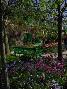 I would love to go back. Monet's garden.