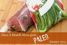 Paleo Freezer Cooking