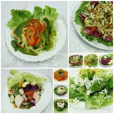 Cobb Salad, Cabbage, Bacon, Food And Drink, Vegetables, Cooking, Health, Ethnic Recipes, Dressings