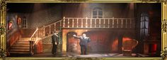 Addams Family Musical Set | Chinchilla Theatrical is proud to offer its Addams Family set rental ...
