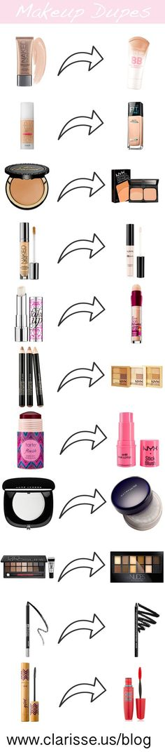 Drugstore Makeup Dupes-Whether you�re getting ready for prom, a night out with…