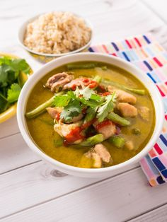 Pressure Cooker Thai Green Chicken Curry - Dad Cooks Dinner
