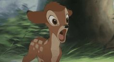 Bambi... So adorable!