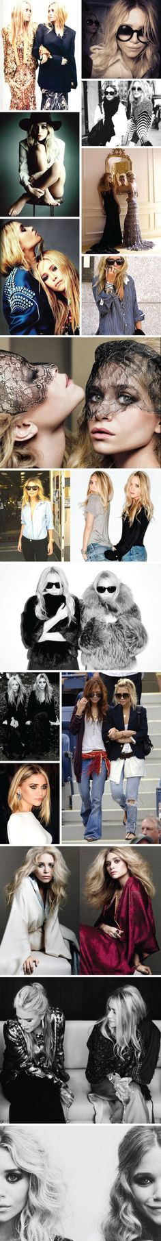 mary kate and ashley olsen style inspiration www.llbblog.com