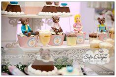 Soft Design: Soft Design na festa da Alice - Cachinhos Dourados e os Três Ursos