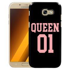 Samsung Galaxy A3 7 (2017) Mobilskal Queen 01 Black Pink