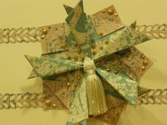 Made for Paper - Designs by Lis: Tea Bag Folding - Day 2 Five Point Star Fold (My own design!)