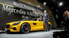 The AMG GT introduction at the Paris Motor Show 2014 - stealing the spotlight!