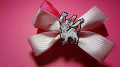 Sylveon Hair Bow by spinaltapcola on Etsy, $8.00