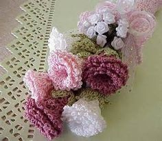 free crochet wedding bouquet patterns YahooSearch Results
