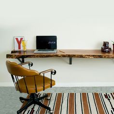 Driftwood Desk with brackets   Acquisto