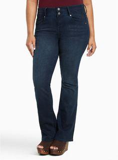 d58489b54f0 Silver Suki High Rise Slim Boot Cut Womens Dark Wash Blue Jeans Size 26 x  31