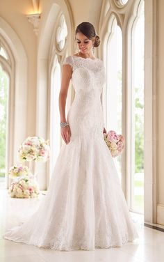 Wedding Dress from Stella York Style 6027