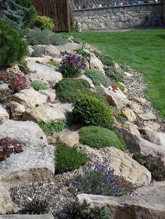Steingarten 15 Amazing Rock Garden Design Ideas Tools Every Do-It-Yourself Landscaper Needs Article Landscaping With Rocks, Front Yard Landscaping, Landscaping Ideas, Mulch Landscaping, Florida Landscaping, Country Landscaping, Rockery Garden, Sloping Garden, Garden Paths